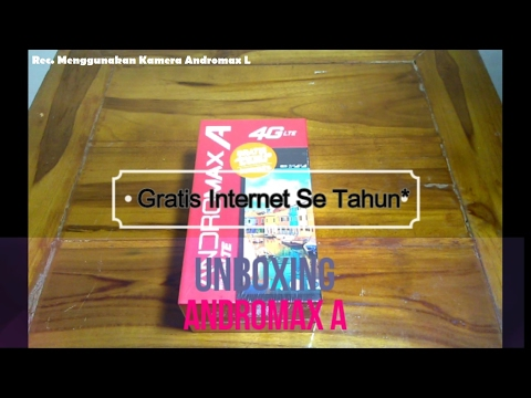 Video Unboxing Andromax A Gratis Internet Setahun