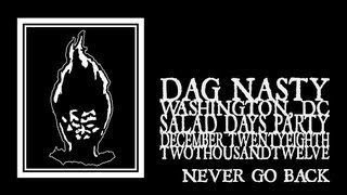Dag  Nasty - Never Go Back (Black Cat 2012) 720p