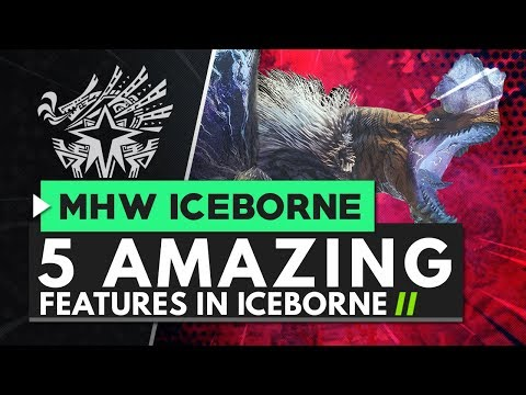 5 Amazing Features Coming In Monster Hunter World Iceborne