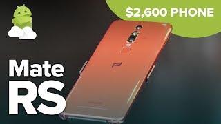 Huawei Mate RS Porsche Design: $2,600 Phone Hands-On