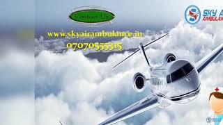 Choose Credible ICU Setup Air ambulance Service in Allahabad by Sky