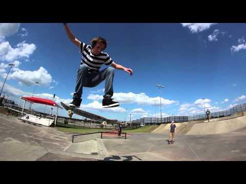 Skateboarding - Lewisville Skatepark Montage - Will Moseley