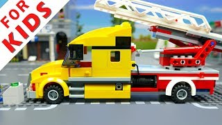 Lego Wrong Cars  Brick Building Animation for Kids 2