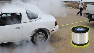 Can You Tow a Car With Fishing Line?