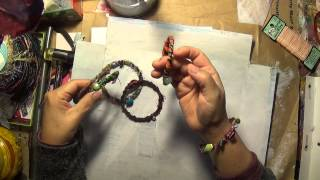 Diy Boho Gypsy Bracelet Part 4