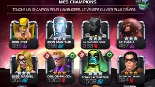 Marvel tournoi des champion : tuto 1 les champions