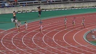 2017全国高校総体 女子400m予選~決勝