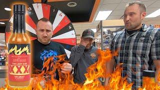 Denney's Hot Sauce Challenge
