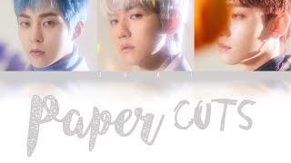 Paper Cuts   EXO CBX [JPNROMENG COLOR CODED LYRICS]
