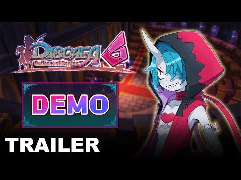 Demo Trailer de Disgaea 6: Defiance of Destiny