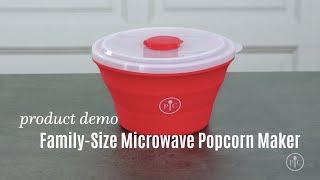 Family-Size Microwave Popcorn Maker   Pampered Chef