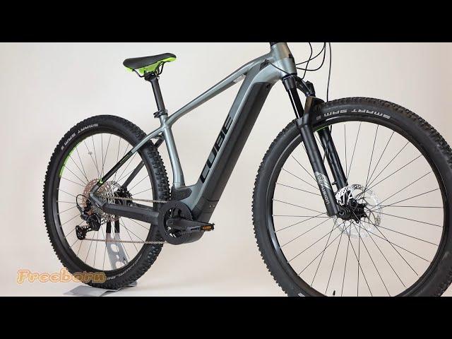 Видео Велосипед Cube Reaction Hybrid Pro 625 (Grey'n'Red)