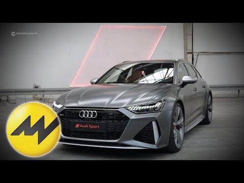 Der neue Audi RS6 Avant | Weltpremiere | Sound und alle Fakten | Motorvision