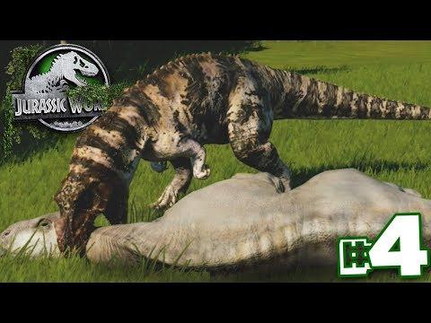 They're All DEAD!!! | Dinosaur Preserve - Part 4 | Jurassic World Evolution