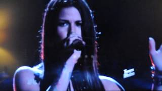 """Cassadee Pope """"I'm with you"""" The Voice"""