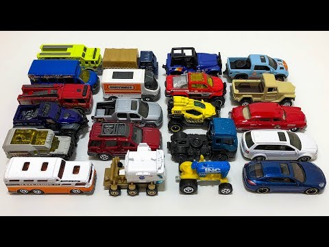 Opening New Matchbox 2018 L Case Cars!