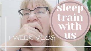Sleep train your baby in one week | Night weaning, baby sleeping through the night | Mariana