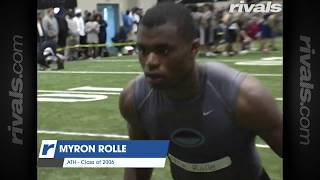 Myron Rolle: Top Football Recruit - Florida State Seminoles - NFL - Doctor