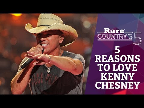 5 Reasons to Love Kenny Chesney | Rare Country's 5