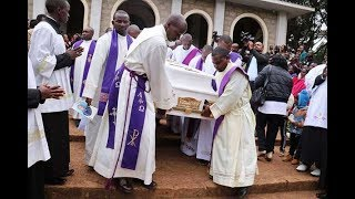 Slain Meru Catholic priest buried - VIDEO