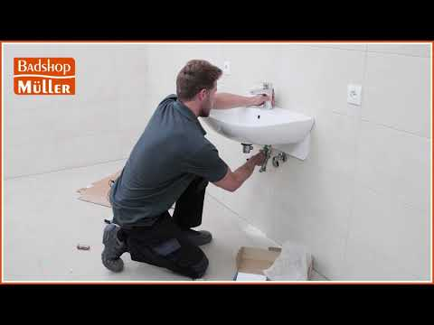 Armatur richtig anschließen (Waschbecken)