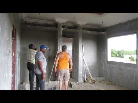 Gambia,house building ! 27th july