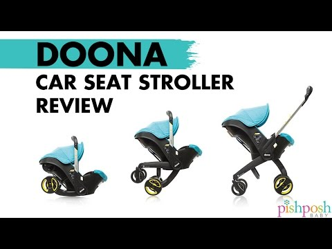 Full Doona Car Seat Demo + Review