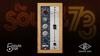 5-Minute UAD Tips: Neve 1073 Preamp & EQ Collection