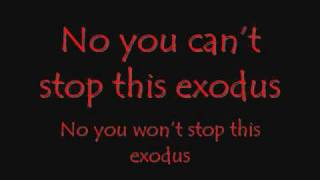 Anti-Flag Exodus/Emigre (Lyrics)