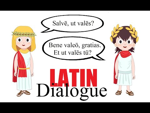 Latin Dialogue #1 | Latin Lessons for Beginners | Latin 101