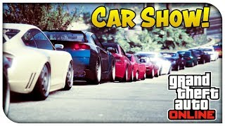 GTA V CAR MEET ADD ME TO JOIN GTA ONLINE [PS4] [1.7K SUBS??]