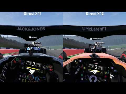 Difference between DX11 and DX12? :: F1 2019 General Discussions