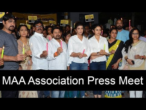 MAA Association Pressmeet