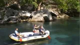 preview picture of video 'Rafting in Antalya'