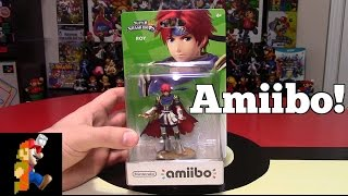 Roy Amiibo Unboxing + Review | Nintendo Collecting