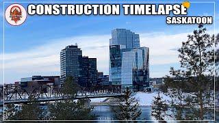 Construction Timelapse of Nutrien Tower in Saskatoon