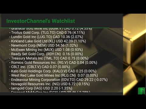 InvestorChannel's Gold Watchlist Update for Tuesday, Septe ... Thumbnail