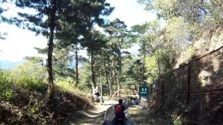 Video : China : The toboggan ride at MuTianYu Great Wall, BeiJing 北京
