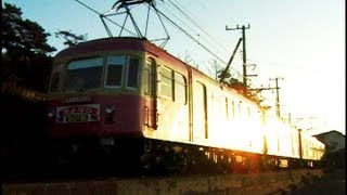 2001/12江ノ電旧500形ピンク&クリームモモ電PostPet