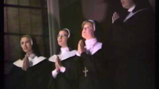 "Leslie & nuns sing ""How do you Solve a Problem Like Maria"""