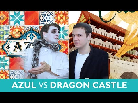 Which is Greater? Azul vs Dragon Castle (A Christmas Special)