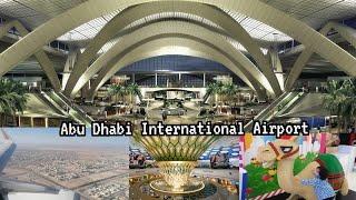 Abu Dhabi International Airport Transit During Corona Pandemic | Flight Landing Etihad Airways