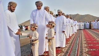 preview picture of video 'Yunqil Eid AlFitr Prayer 2013 صلاة عيد الفطر السعيد - ولاية يتقل'