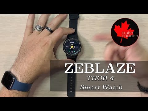 Zeblaze Thor 4 Smart Watch Unboxing and First Look