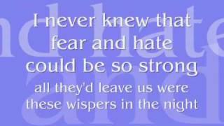 If I Never Knew You {Lyrics on Screen}
