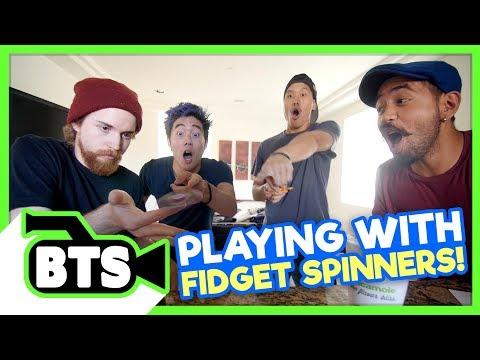 Fidget Spinner Fails! (BTS)