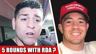 Nick Diaz rips Colby Covington on instagram, Colby responds, Cormier vs. Brock Lesnar