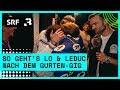 Gurtenfestival: So geht's Lo & Leduc nach dem Gurten-Gig | Festivalsommer 2019 | Radio SRF 3