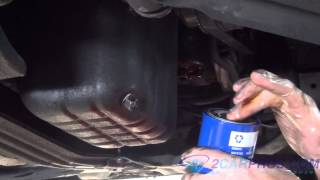 Engine Oil Change and Filter