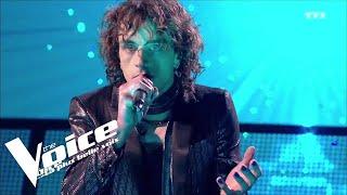 Christophe  (Les mots bleus)   Xam Hurricane   The Voice 2018   Lives